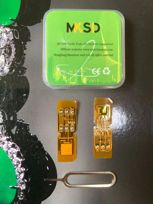 5hours Hot! MKSD Green iOS 14.1.x VSIM MAX V5 V7 Lås upp SIM-kort med ICCID + MNC-läge för IP XR XS Max 11Pro 11 12Promax Gevey