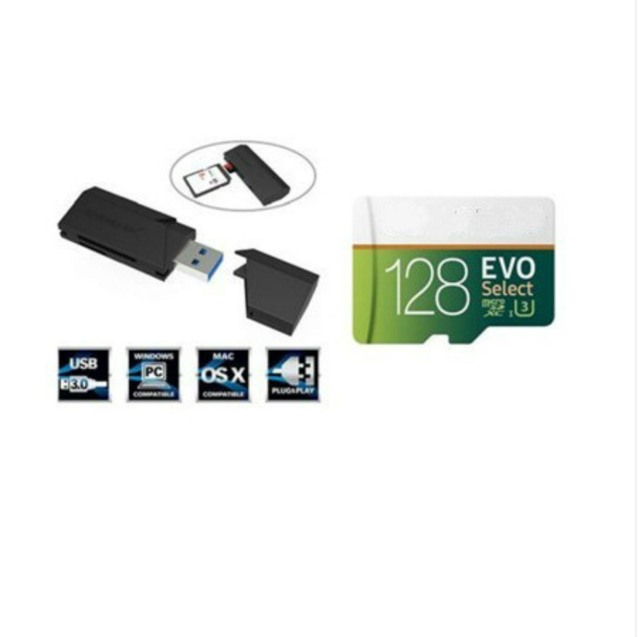 16G / 32GB / 64GB / 128GB / 256GB Samsung EVO Выбрать карту Micro SD / смартфон карту для хранения / карта автомобиля TF Card / SDXC карта памяти 100 МБ