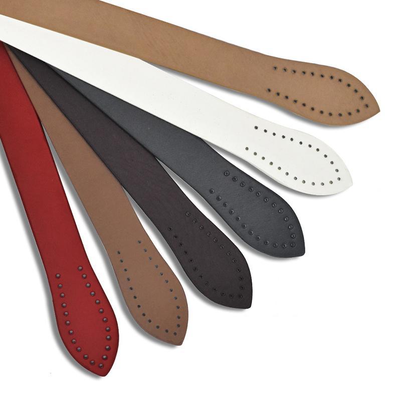 60 centímetros PU Simples Bag Alça de Mão Folhas de costura saco alças Vertical Bar Bag Belt DIY Acessórios para as malas Sólidos trata as cores Obag