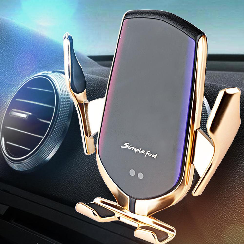 2020 R2 Professionelles Auto Wireless Ladegerät Der neue Infrarotautomatik Sensor Auto Wireless Magic Ladegerät R2 Mobiltelefon Positionieren Wireless