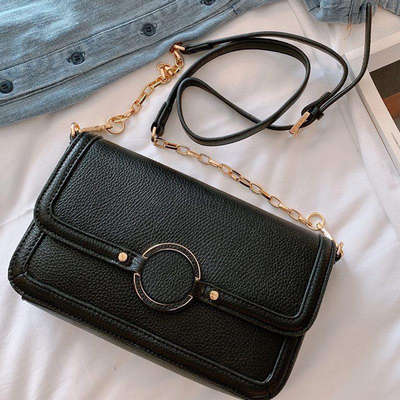 Bolsa de Alta Qualidade Nova Mulheres Bolsa Bolsa de Ouro Chain Bolsas Crossbody Bag para bolsas de bolsas de moda bolsas