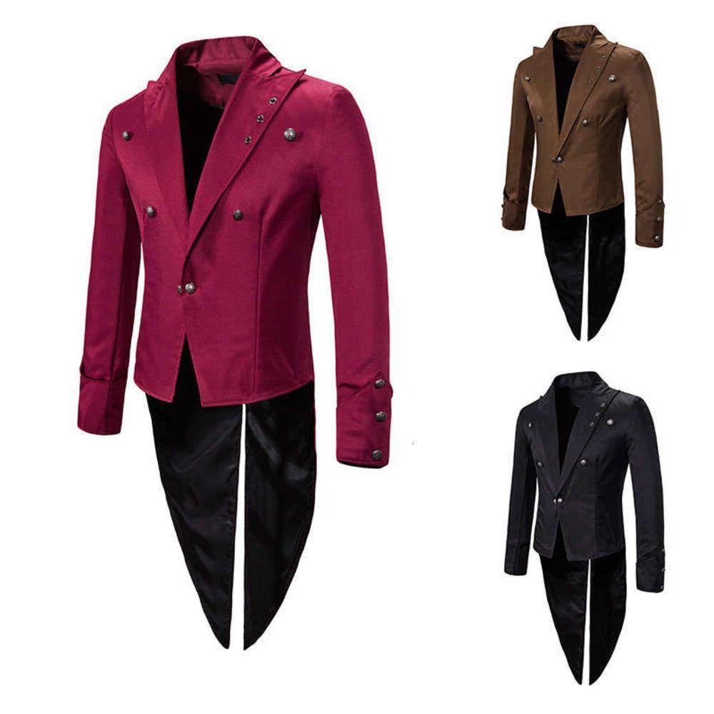 2020 Giyim Sonbahar Ve Kış Performansı Smokin Abiye Erkek Lapel Suit X52