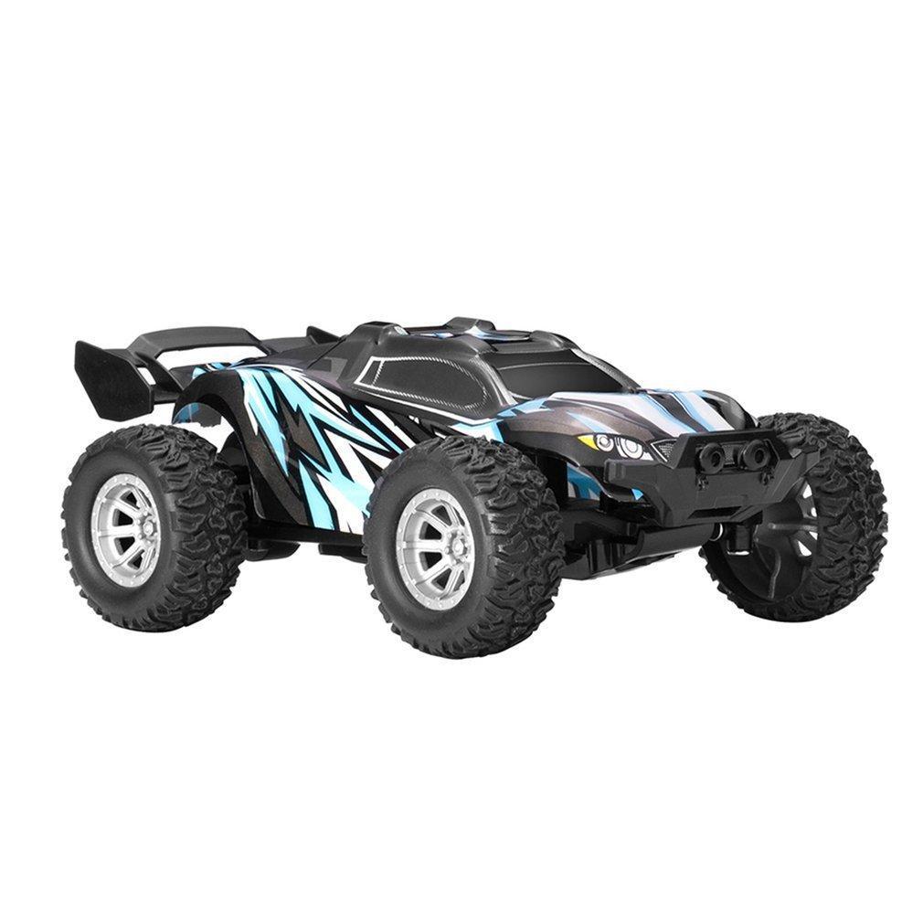 1/32 2,4G 25km / h Wasserdichte RC Racing Auto Buggy Truck Off-Road Toys Fernbedienung Fahrzeug 201203
