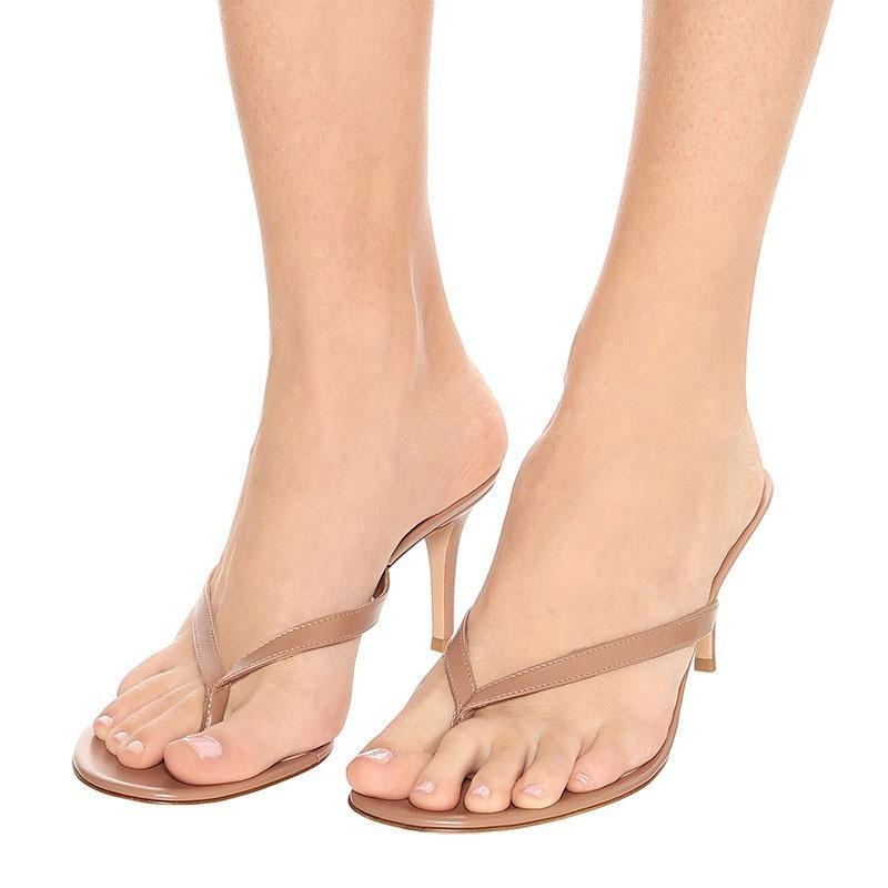 Feshions d'été Femmes Mince Chaussures à talons hauts Sandales étroites de femmes Sexy Parti extérieure Dames Haute Talons TL-A0290 JJJQ