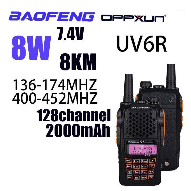 Walkie Talkie Baofeng UV-6R 5W Radio UHF VHF Dual Band UV 6R CB Upgrade de UV-5R Baofeng1