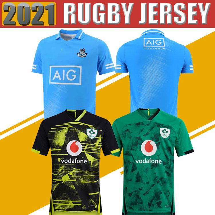 2020 2021 Ирландия регби трикотажные изделия 2020 Кубок мира Ирландия Национальная команда Главная Выдальная регби Мужская S-5XL Рубашка высшего качества Высочайшее качество