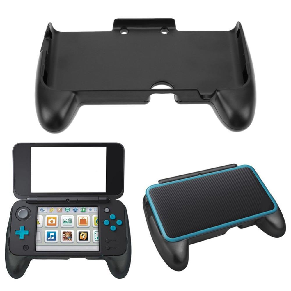 Elektronik El Oyunları Siyah ABS El Kavrama Koruyucu Destek Kılıf Nintendo 2DS LL 2DS XL Yeni Konsol Oyun Konsolu
