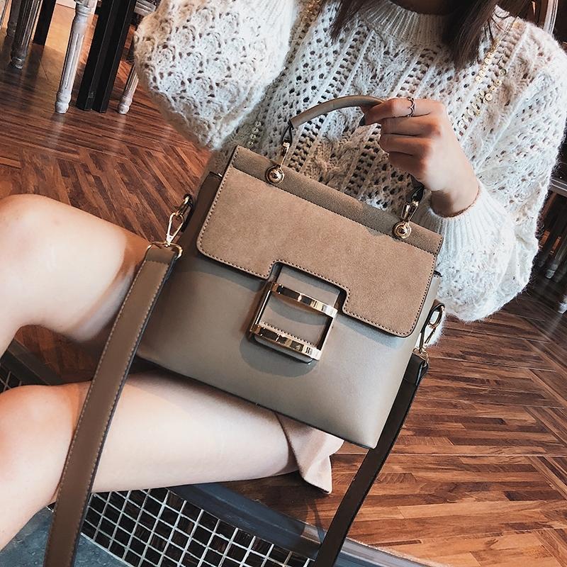 Messenger Tasarımcı Bayanlar Çanta Kadınlar Omuz Crossbody Deri Kadın Rahat Çanta Lüks Pathwork PU Çanta Çanta 02rq Moda Gnbox