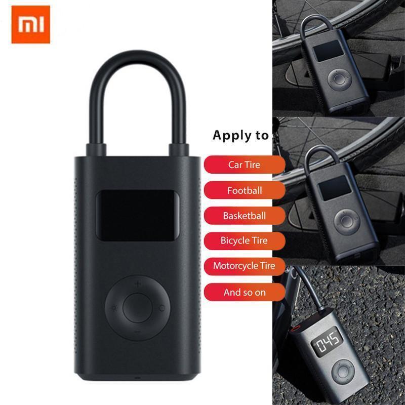 Xiaomi mijia الكهربائية نافخة مضخة المحمولة الذكية الرقمية الاطارات الاطارات كشف لدراجة دراجة دراجة نارية سكوتر M365 برو سيارة كرة القدم