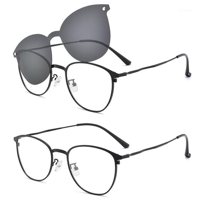 Eyewear Auto Männer Sonnenbrille Frauen Polarisierte Fahren1 Quadratische Sonnenbrille Vintage auf Clip Outdoor Sport Gläsern Goggles Mode Rexca