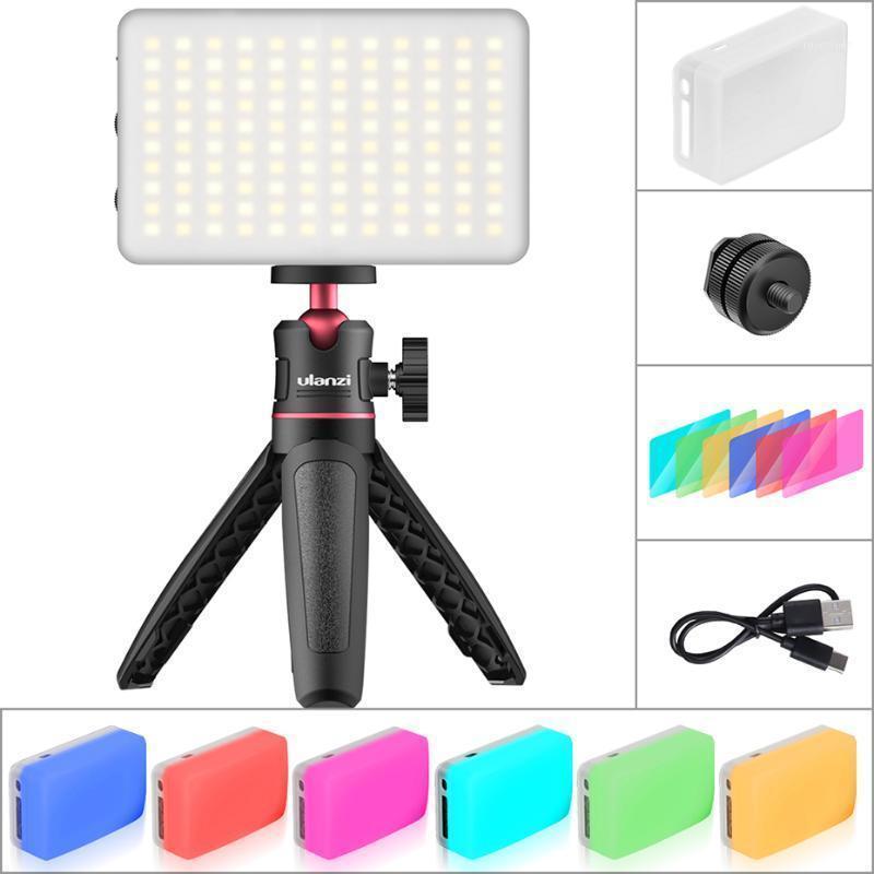 Ulanzi LED Video Light RGB Color 3200-6500K Filtro Softbox Filtro Iluminación Fotográfica Vlog Fill Light High Live Broadcast YouTube Kit1