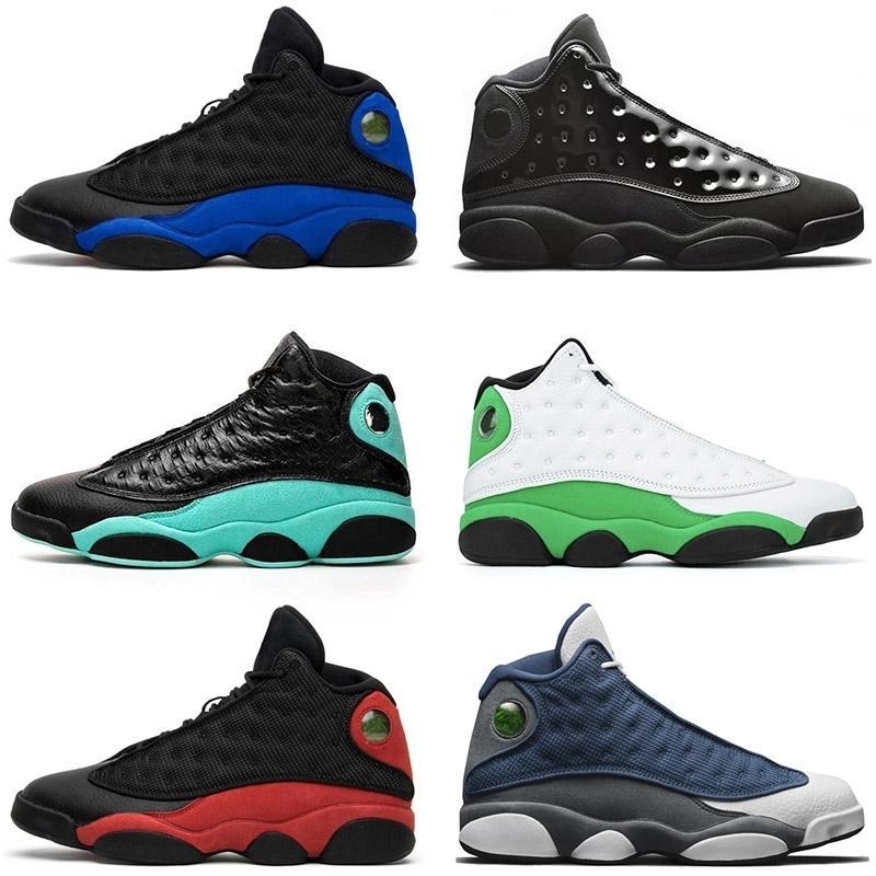 Jumpman 13 Flint 13 Bred Erkek Basketbol Ayakkabı 13s Hiper Kraliyet Şanslı Yeşil Oyun Mens Yeşil Eğitmenler Kadınlar Sneakers boyutu 13 süzülmek