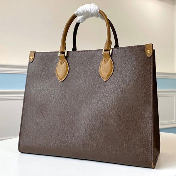 2021 Sıcak Lüks Tasarımcı Çantası Mono Onthego Çanta Omuz Çantası Debriyaj Tasarımcısı Cüzdan Klasik 4 Renkli Tote Çanta Alışveriş Çantaları Ücretsiz Kargo1