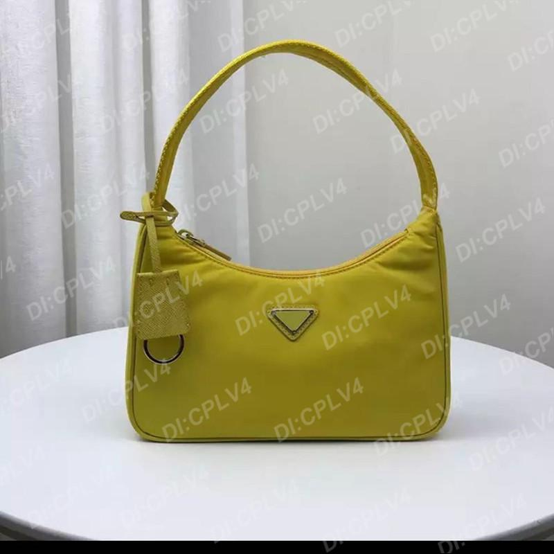 Mini Causal Elegante Nylon Sacos Subaxillary Sacos Mulheres Mulheres Crossbody totes Alta Qualidade Luxo Retro Shoulder Bagbags