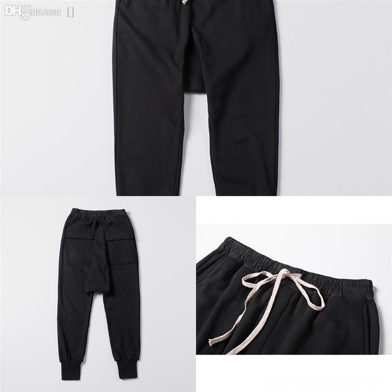 nrjks jogging hombres lujo deporte en forma hombre pantalón casl coreano correr pantalones diseñador gimnasio pantalones hombres culturismo trackpants de algodón delgado