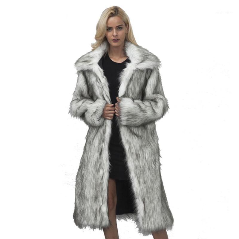 Donne inverno calda eapide manica lunga manica lunga tasca takewear cappotto casual Sport Solido solido finto cappotto di pelliccia donne 2020 autunno inverno caldo1
