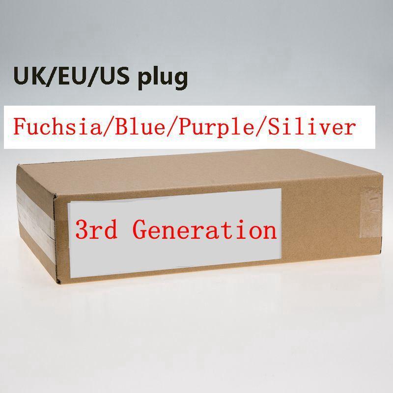 جيل 3 لا مروحة مجفف الشعر المهنية أدوات صالون ضربة مجففات الحرارة سوبر السرعة الولايات المتحدة / المملكة المتحدة / الاتحاد الأوروبي التوصيل