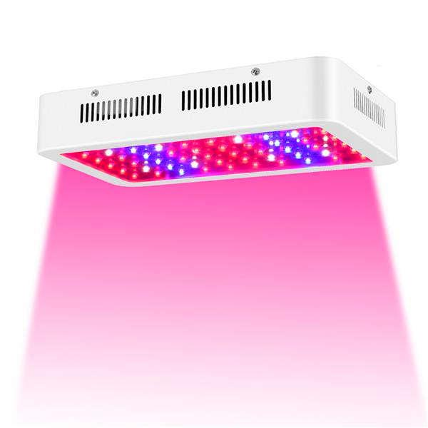 Vente chaude 600W Dual Chips 380-730nm Spectrum complet Lampe de croissance de la plante Lampe de croissance de haute qualité
