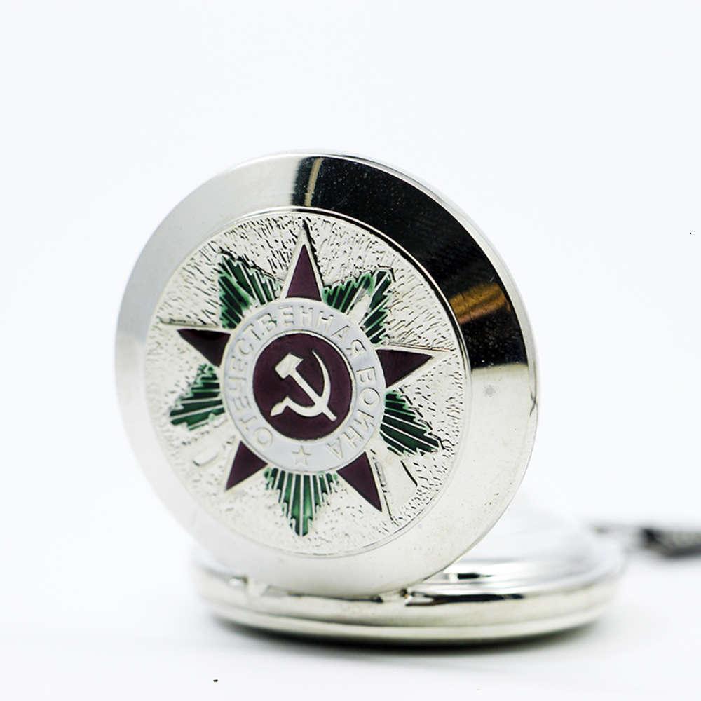 Retrô Vintage Homens Mulheres Relógios De Bolso Relógio Mecânico União Soviética Design Esculpido LID Esqueleto Dial Pingente Chain PJX1221