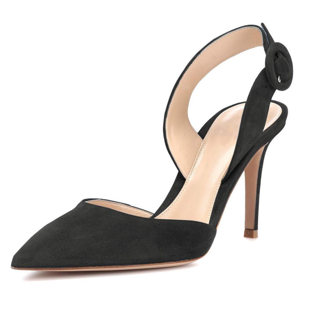 2021 новый элегантный женский палец на рогающем ноге свадебные каблуки высокого QQOD