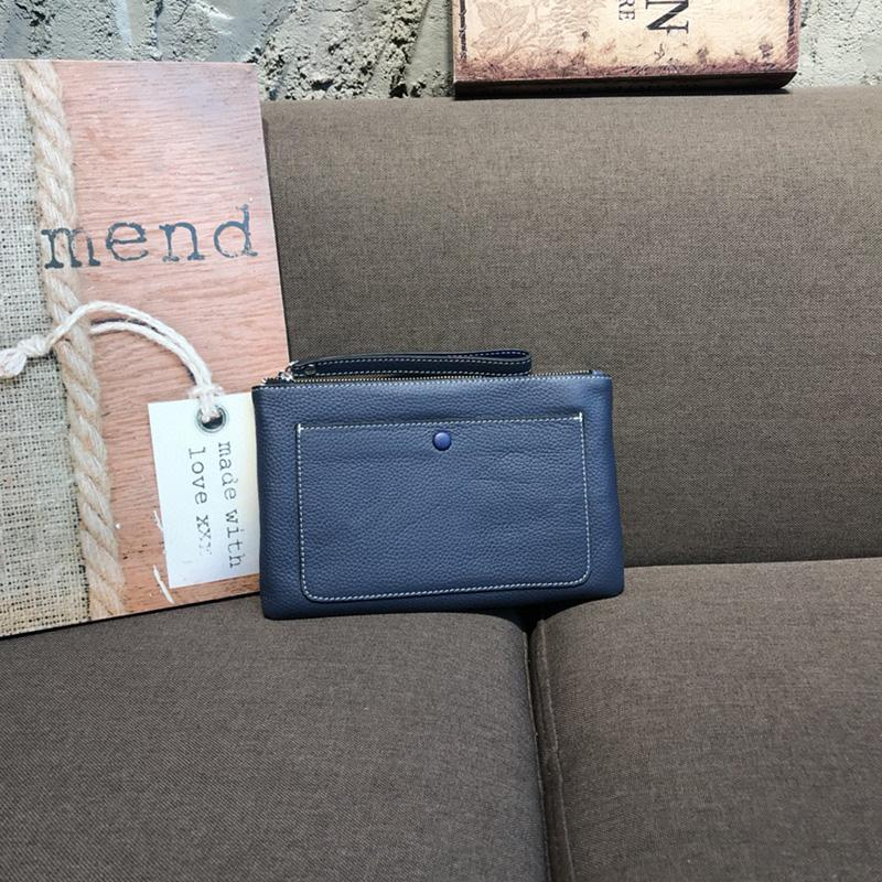 Nuevos diseñadores bolsa de bolsa de cuero bolso de cuero bolso de monedas MMOIG Top Luxurys Holder Holder Masculina para tarjeta larga Oltrj