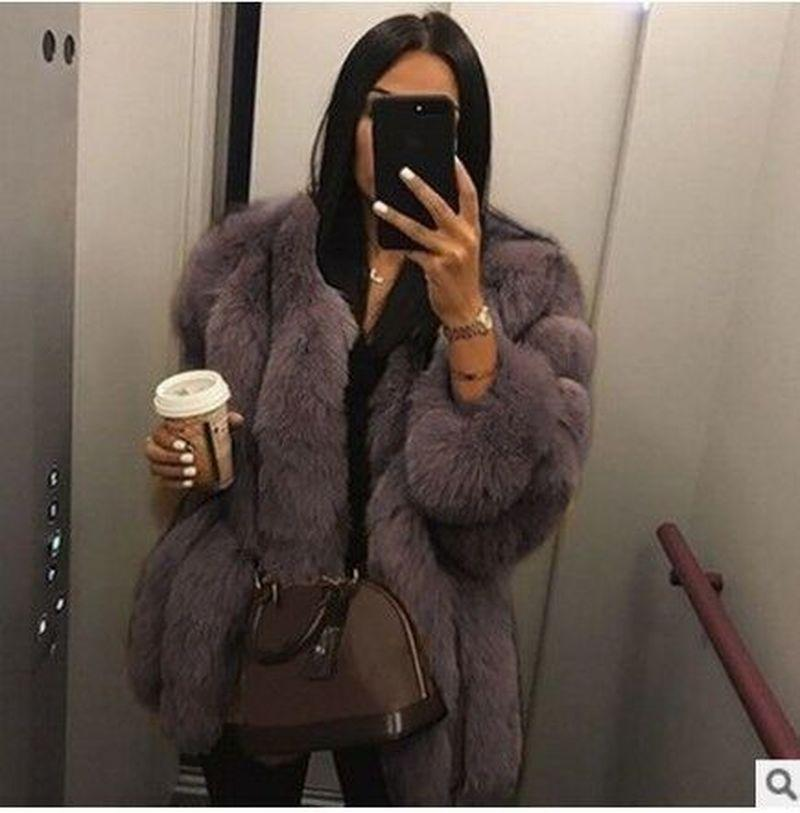 2020 Nuevo estilo Mujeres Faux abrigo de piel de invierno de alta calidad Mujeres gruesas sobre abrigo cálido más tamaño de peluche peludo chaqueta mujer abrigo ropa exterior 5xl