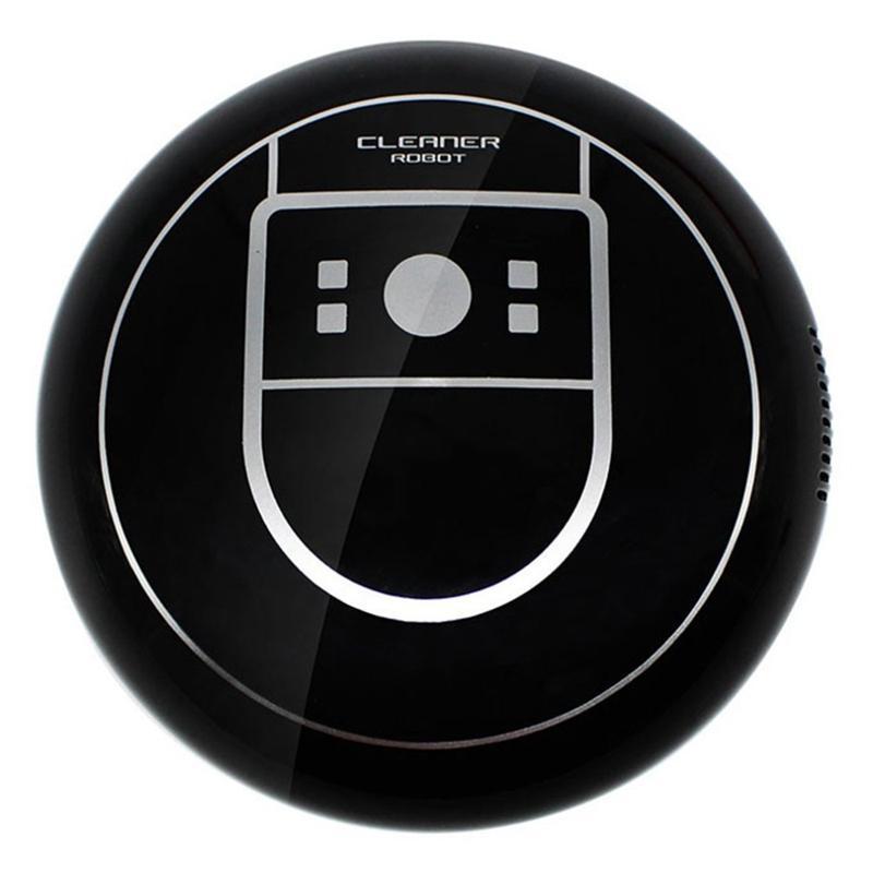 Home Auto Cleaner Robot Microfiber Smart Robotic MOP ROUCKELS PEATE CLEARER ER Вакуум USB зарядки черный