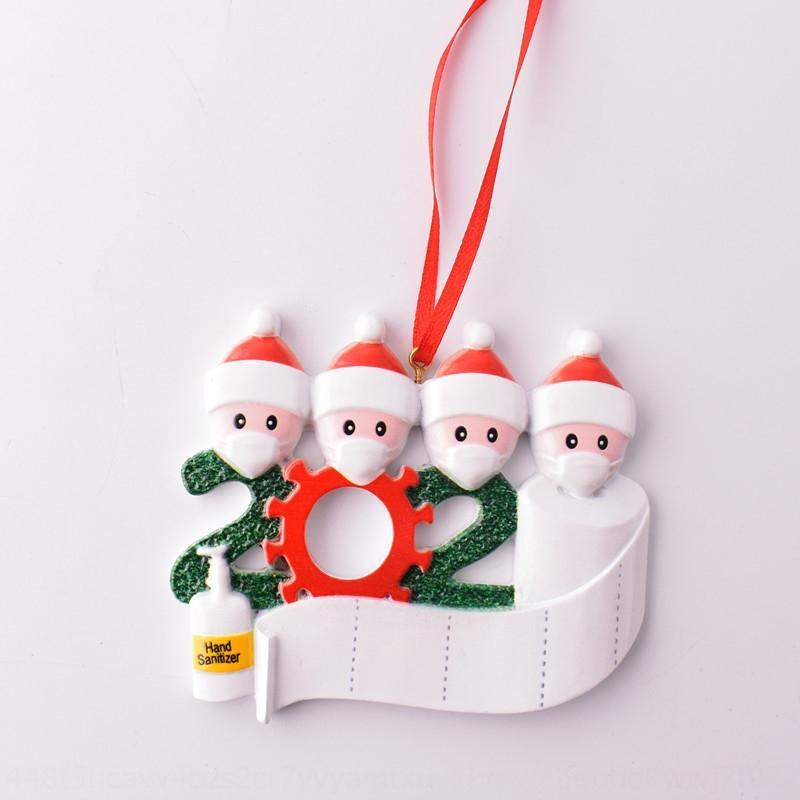 P1GM Рождественские чулки Украшения Конфеты подарок хранения красная решетка черная сумка простые рождественские дерево кулон висит носки украшения LJJP717