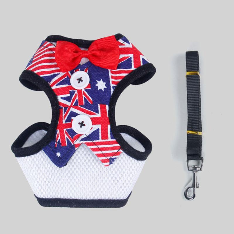 الكلاسيكية منقوشة الكلب الملابس تنفس سترة الكلب الصغيرة مع مشبك القوس الدافئة جرو جاكيتات الكلاب الملابس الحيوانات الأليفة اللوازم 10 تصاميم اختياري HHE3408