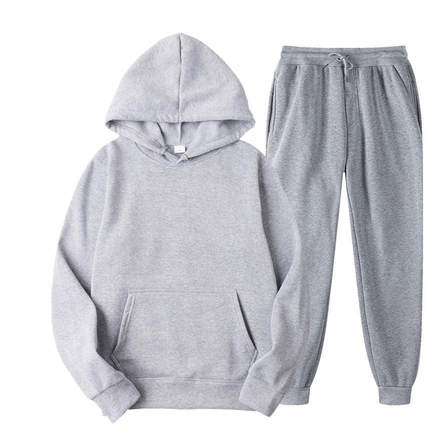 Fashion da uomo con cappuccio con cappuccio con cappuccio da uomo Tenere il caldo colore solido autunno marca di marca oversize e sciolti sportivi casuali