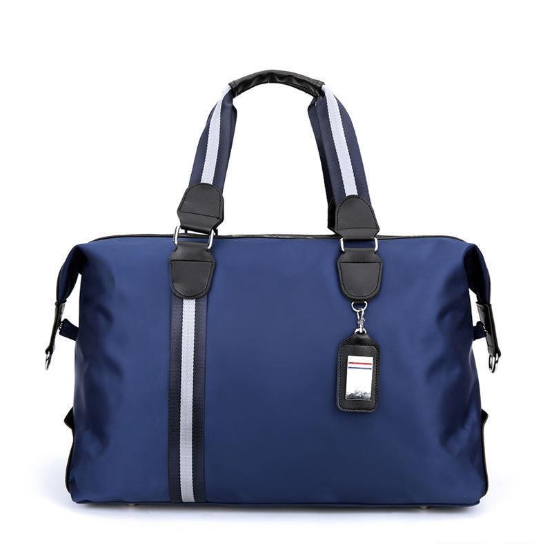 Borsa da viaggio da uomo di grande capacità donne impermeabile in nylon a mano bagaglio borsa multifunzione borse da viaggio borse da viaggio cubi di imballaggio LJ201116