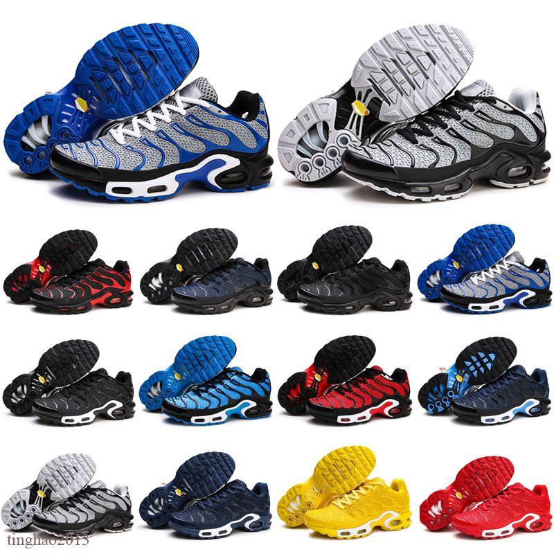 Vente chaude TN Plus 2020 NOUVEAU MENS KPU chaussures respirantes mailles chaises Homme tn chaussures de sport requin chaussures de course super