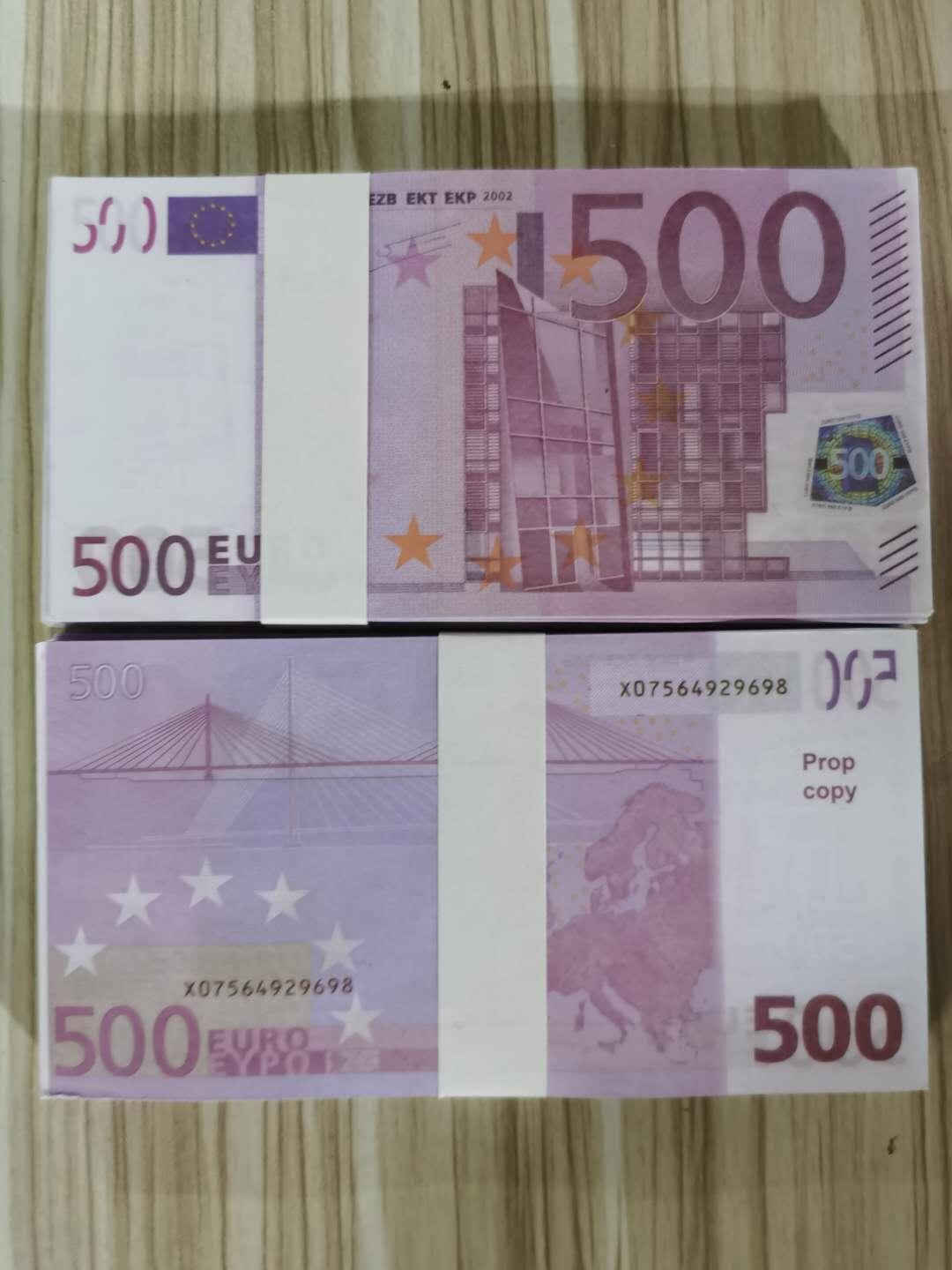 Best Quality Prop money billet 10 20 50 100 Euro,dollar,sterling money the film and televison props money play money176