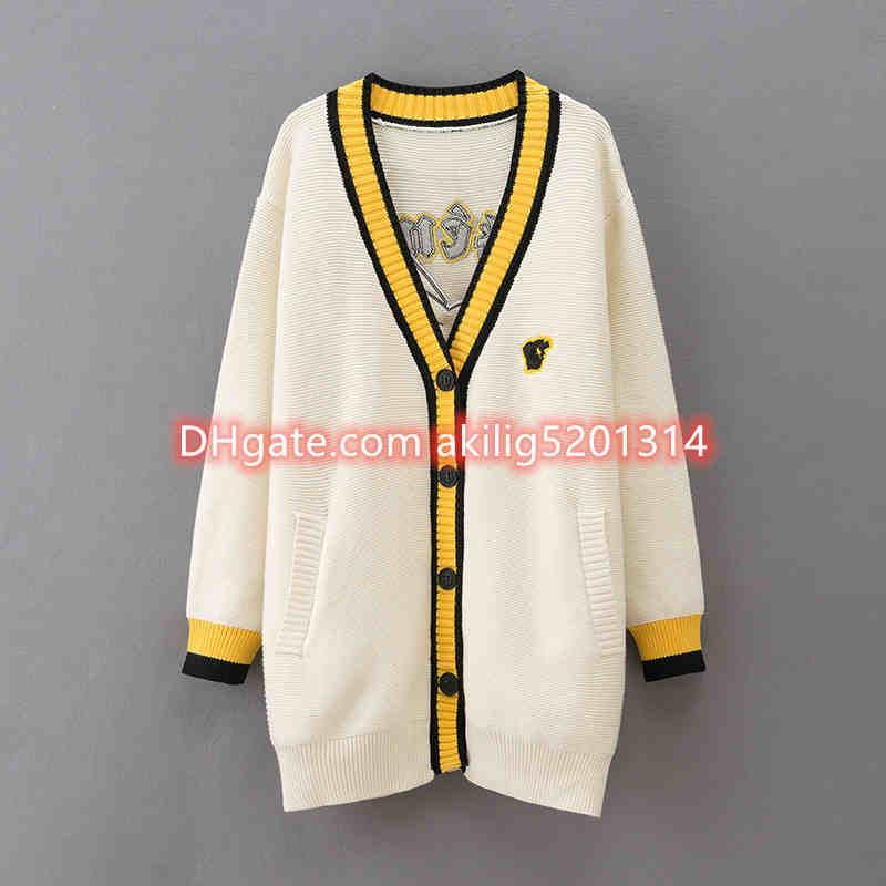 2020 Neue Mode Frauen Winter Pullover Pullover Top Street Weibliche Pullover Ladys Sleeve Cardigan Pullover Frauen Kleidung Frauen Jumper S-2XL