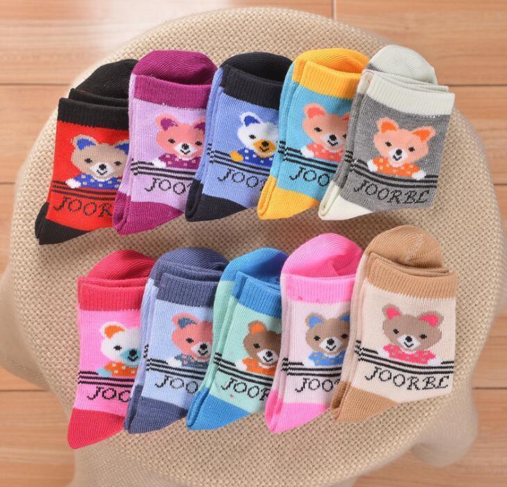 2021 Kids New Boy Girl Sommer Kinder Stocks Gute Qualität Baumwolle Weiche Socken Baby Candy Farbe
