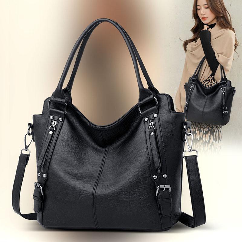 Sac Women Capacity Shopper Tote Bags Borsa Signore Designer crossbody di lusso per la borsa in pelle grande borsa in pelle Jiacg
