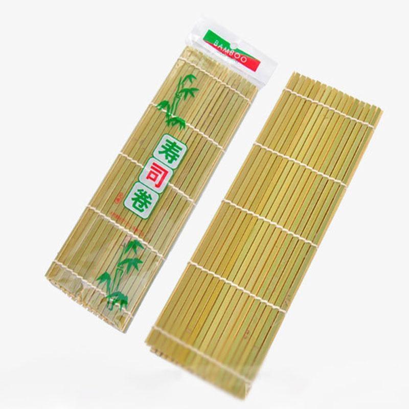 DIY Onigiri Riz Rouge De Sushi Maker Outils Bambou Cuisine Sushi Rideau Tapis Cuisine Accessoires Livraison Gratuite