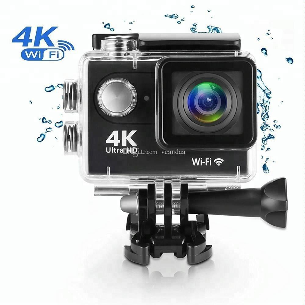 Водонепроницаемая мини-камера Eken H9R 4K WiFi спортивная камера камеры видеокамеры 1080P DV видео рекордер