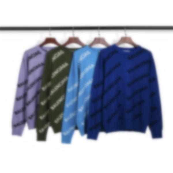 20SSS Mens femmes Designer Sweater Luxe Lettres Pullover Hommes Sweat à manches longues Sweat-shirt actif Broderie Tricoterie Chaud Vêtements d'hiver # 527