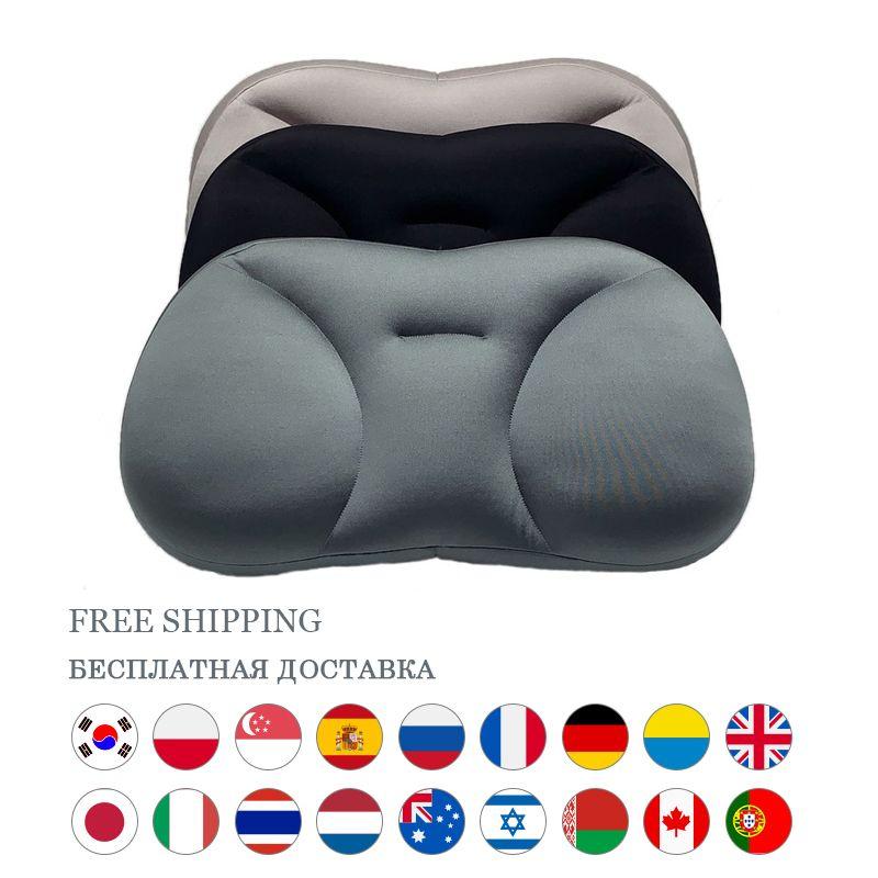Deep Sleeping Sleep Sleeping Orthopedic Coccyx Massaggiatore Memory Boam Neck Pillow Care Health Body Slow Rebound Biancheria da letto cuscini 201219