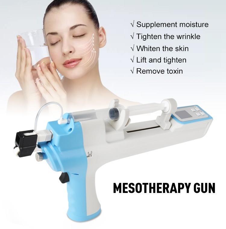 mesotherapy كسور rf بندقية آلة الجمال للعناية بالبشرة الوجه رفع التجاعيد إزالة مكافحة الشيخوخة الجلد تشديد