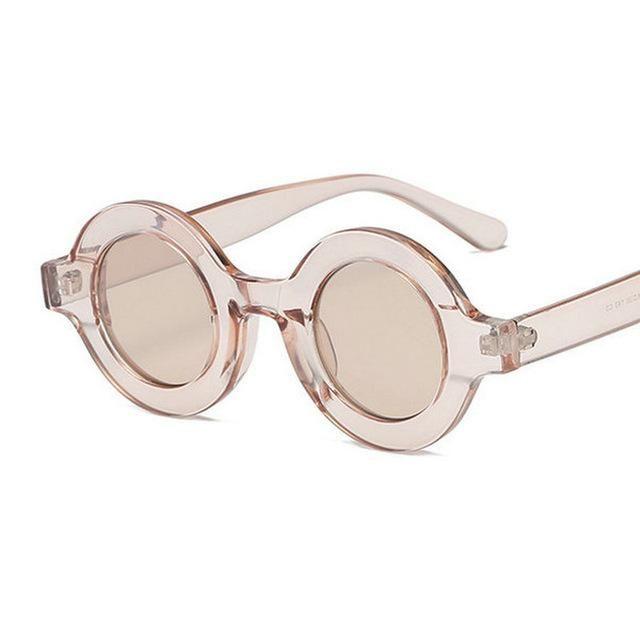 2020 Leoaprd Óculos Brand Pequeno Vintage White Óculos Sun UV400 Mulheres Designer Homens Sunglasses Vermelho Senhoras Redondo Sunglass FML FML FML FML FRWPI