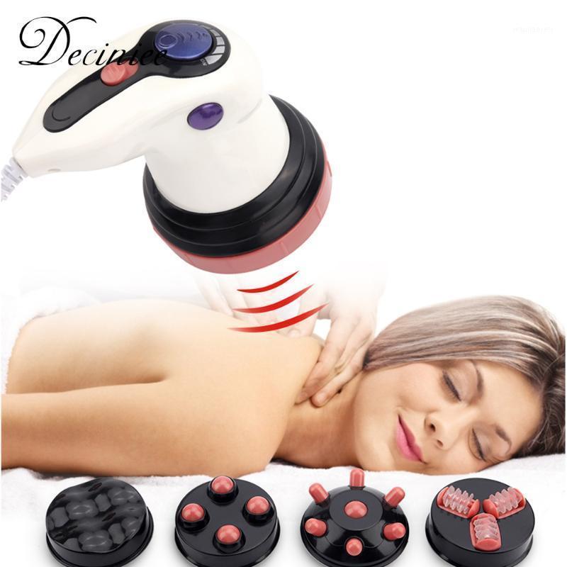 Massaggio elettrico del rilassamento multifunzione Massaggio elettrico Shiatsu Back Neck Body Body Massager Shiatsu Neck Adipose rifiuto con 4 teste1