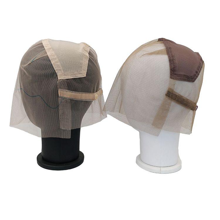 Cappuccio della parrucca svizzera piena del pizzo trasparente per la produzione di parrucche piene del merletto con cinturino regolabile Custom Your Style Haitnet