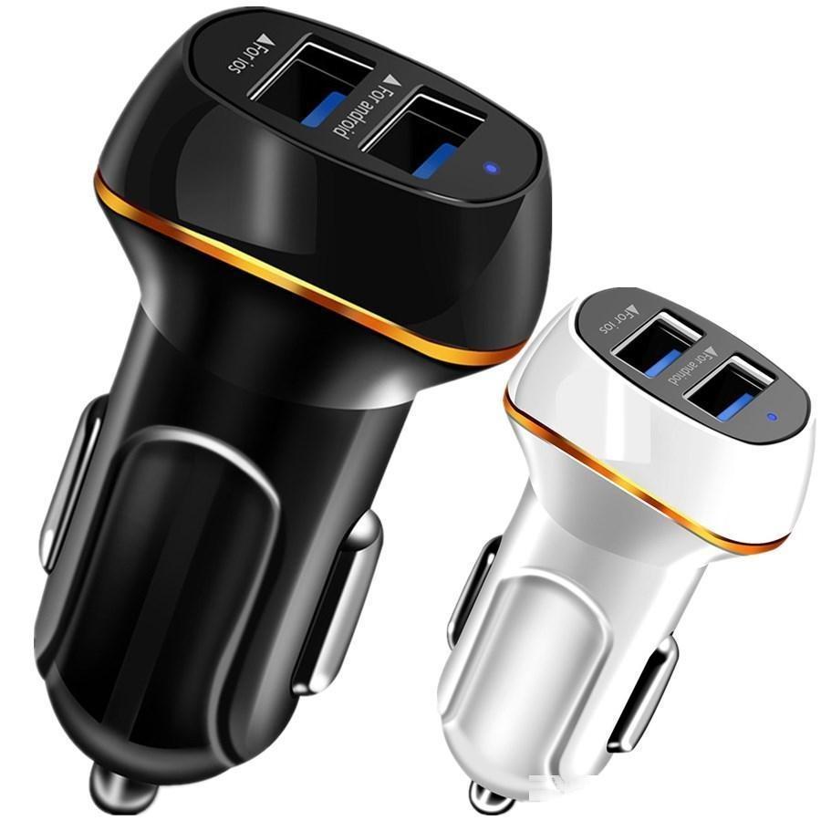 CGJXSuniversal 3 .1A Çift USB Araç Şarj Cihazı Akıllı Telefon için Hızlı Hız Şarj Adaptörü