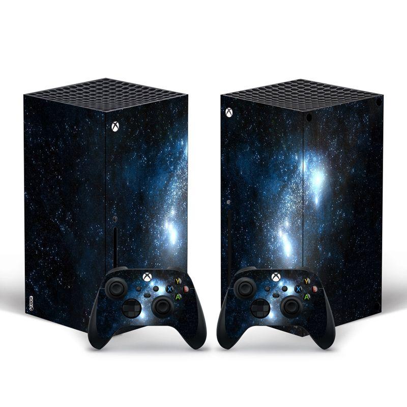 Pegatina para la cubierta de la calcomanía de la piel de Xbox Serie X del controlador para para la consola XBOX Series X y 2 controladores Y1201