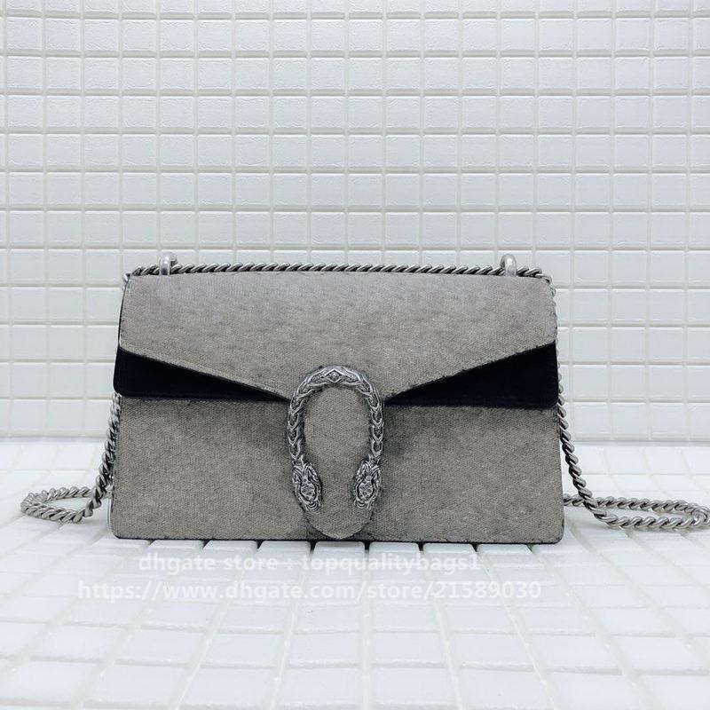 2020 hombro caliente vendido 28 cm letras Top Mujeres diseñador moda 400249 Calidad de cuero Bolso de moda Classic Genuine Crossbody Bolsa Free Shi PSTF