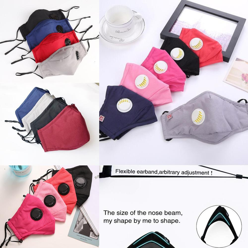 Face Fashion design Washable Reusable Cotton Mouth Mask Anti dust PM2.5 Fabric Face mask Mn3b1