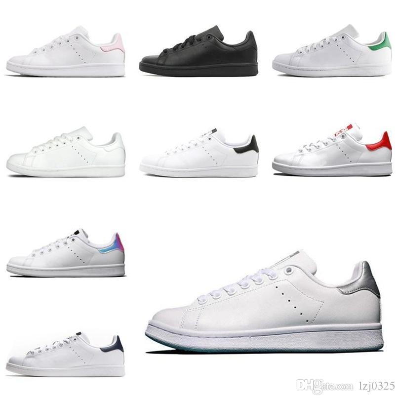 Adidas 2021 STAN SMITH BOOTS MENS para mujer Zapatos casuales Tripler Black Laser Plataforma Golden Fashion Deportes Deportes Zapatillas Deportes Planeos 36-44