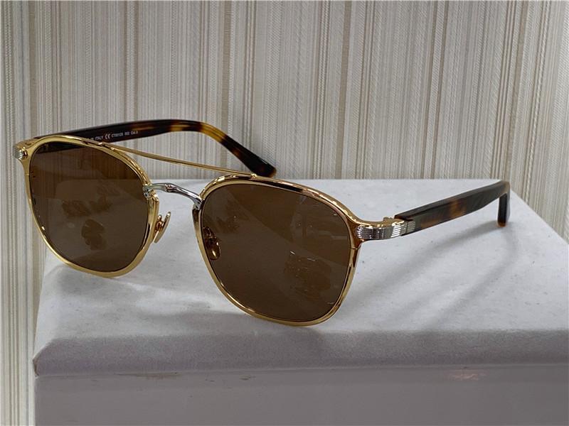 Yeni Moda Tasarım Güneş Gözlüğü 0012 Retro Yuvarlak K Altın Çerçeve Eğilim Avant-Garde Stil Koruma Gözlük Kutusu Ile En Kaliteli